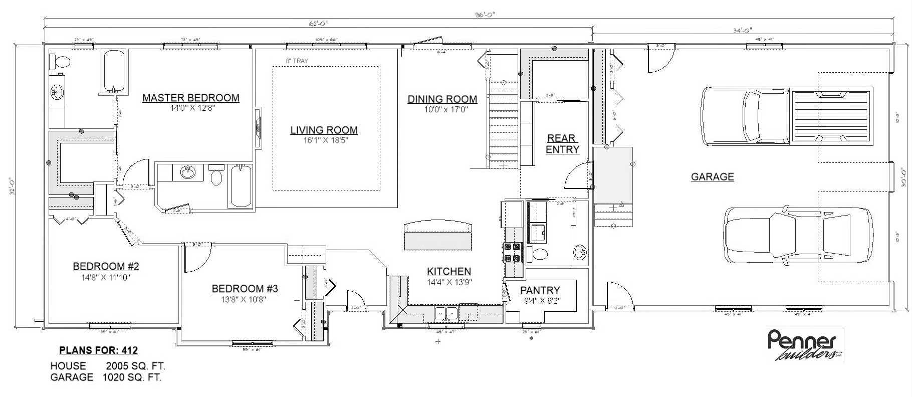 Penner Homes Floor Plan Id: 412